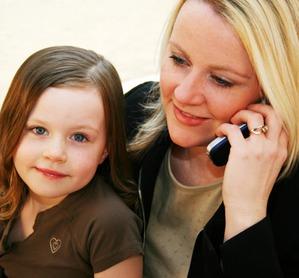 Дочери работающих мам более успешны в своей карьере