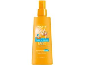 VICHY / Солнцезащитный Спрей Capital Soleil Childrens Face Body Lotion Spray SPF50