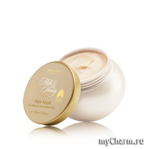 Oriflame / Маска для волос «Молоко и мед – Золотая серия»