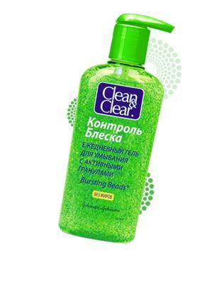 Clean&Clear / Контроль блеска Ежедневный гель для умывания
