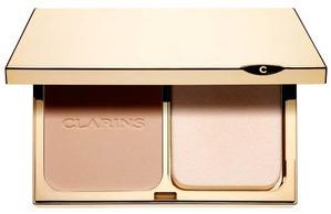 Clarins / Компактная устойчивая тональная крем-пудра Haute Tenue SPF 15
