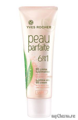 Yves Rocher / Тональный крем Yves Rosher Peau parfaite 6 en 1 BB creme sublimatrice