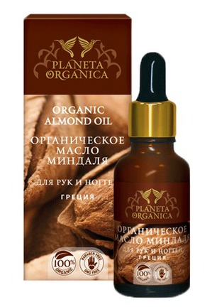 Planeta Organica / Масло для рук и ногтей Organic Almond Oil