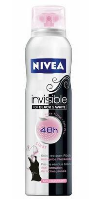 NIVEA / Дезодорант-антиперспирант Невидимая защита для черного и белого (CLEAR) спрей