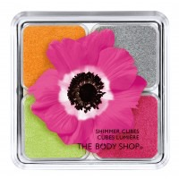 The Body Shop / Четырехцветные тени для век SHIMMER CUBES