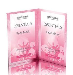 Oriflame / Essentials Face Mask Увлажняющая маска для лица