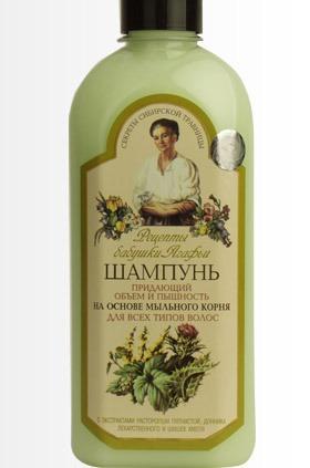 """""""Рецепты бабушки Агафьи"""" / Шампунь, придающий объём и пышность. Для всех типов волос."""