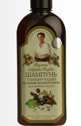 """Рецепты бабушки Агафьи"" / Шампунь тонизирующий. Для жирных волос."