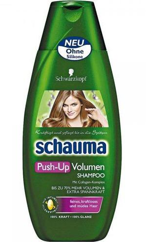 SCHAUMA / Шампунь PUSH-UP Объем для тонких и ослабленных волос
