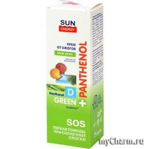 Sun Energy / Пена для тела Green Panthenol