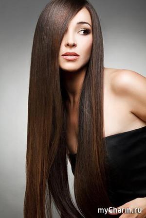 Заметила, что волосы очень быстро стали расти)