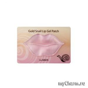 The Saem / Маска для губ Gold Snail Lip Gel Patch