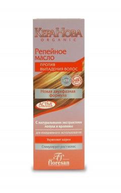 Floresan / Репейное масло против выпадения волос «Кера-Нова»