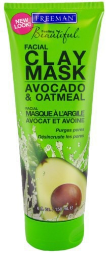 Freeman / Маска для лица Facial Clay Mask avocado & oatmeal