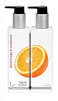 """Kinetics / Лосьон для рук """"Пряный апельсин и Сандаловое дерево"""""""