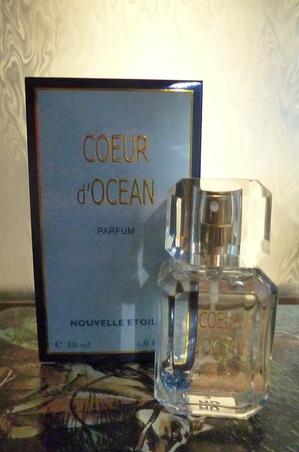 Аромат «Coeur d'Ocean» - теплая соль леденящей морской воды