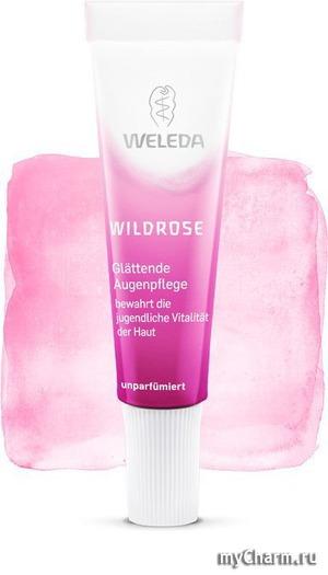 WELEDA / Разлаживающий розовый крем-уход для области вокруг глаз