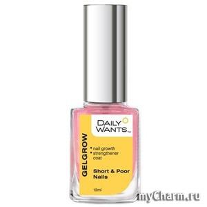 Daily Wants / Гель-ускоритель для ногтей Gelgrow Short &Poor nails