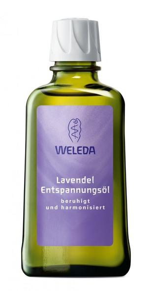 Расслабляющее масло с лавандой от Weleda. Гармония души и тела