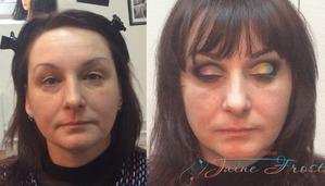 Два вида макияжа глаз ( видео)