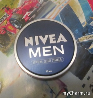 Мужской крем для лица? Только Nivea Men!