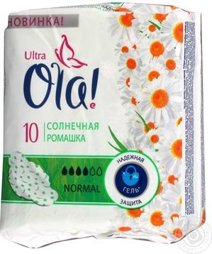 Ola! / Гигиенические прокладки Ultra Солнечная ромашка Normal