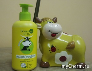 Детское жидкое мыло GreenLab little
