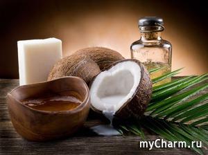 Кокосовое и миндальное масло в борьбе за красоту кожи и волос