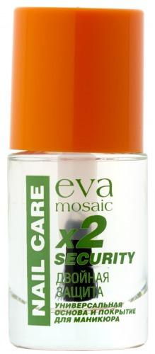 Eva Mosaic / Основа под лак и верхнее покрытие Двойная защита