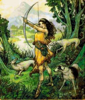 Артемида - упражнения для развития качеств этой богини
