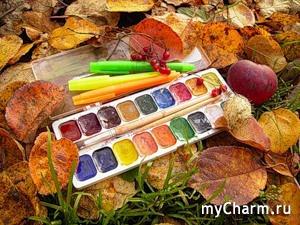 Художница-осень
