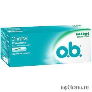 O.B. / Гигиенические тампоны Original Super Plus