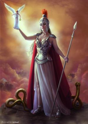 Афина - упражнения для развития качеств этой богини