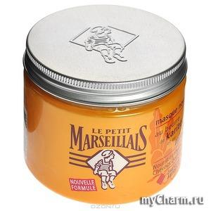 le petit marseillais / Маска для сухих волос питательная, масло Карите и Мед