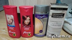 Эпопея с оттеночными шампунями для волос