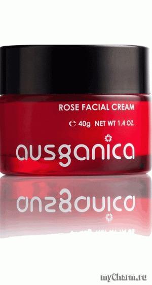 Ausganica / Крем для лица Rose Facial Cream