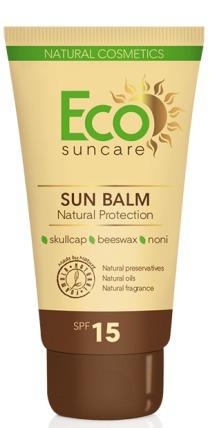 Eco Suncare / Натуральный солнцезащитный бальзам SPF 15 Серия средства для и после загара
