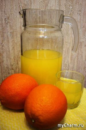 2 апельсина для 3 л напитка! Быстро и просто!