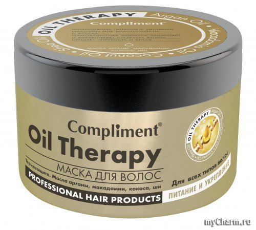 Маски комплимент для волос