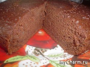 Бисквитный пирог в мультиварке / духовке