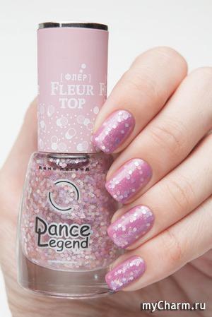 Dance Legend / Верхнее покрытие для ногтей Fleur Top