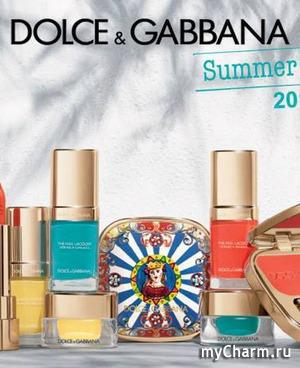 Лето в Италии – новая коллекция макияжа от Dolce&Gabbana