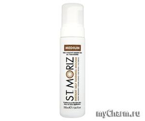 St.Moriz / Автобронзат-мусс Instant Self Tanning Mousse Medium