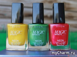 Avon / Лак для ногтей Magic Effects NEON