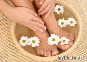 Ванночки для ног и их польза