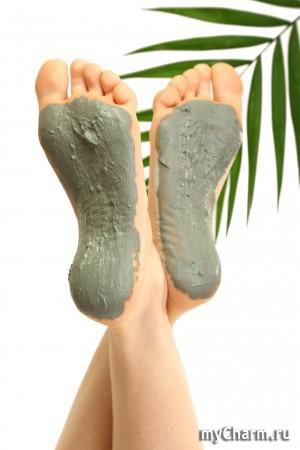 Глиняные ванночки и маски для ног