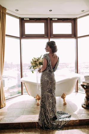Нетипичная стильная невеста