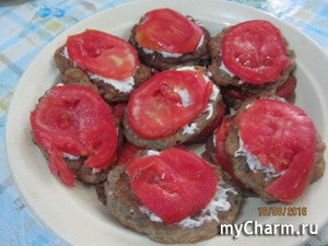 Оладьи из баклажанов (вкуснотень).