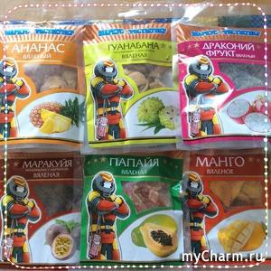 Такие вкусные и полезные... вяленые фрукты от Маркус Фастмувер!