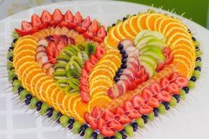 Украшение фруктовой тарелки